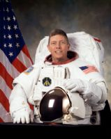"NASA Astronaut Michael Fossum 8""x10"" Full Colour Portrait"